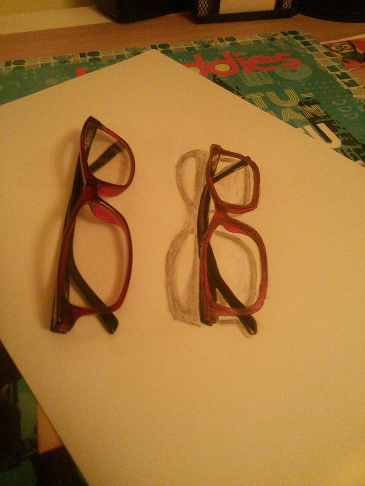 3D drawing glasses