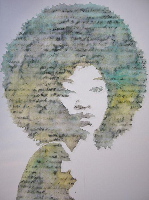 """Saatchi Online Artist: Adit Goschalk; Watercolor, Painting """"04072012 """""""