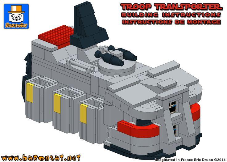 56 best Instructions for Custom Lego Models images on Pinterest ...