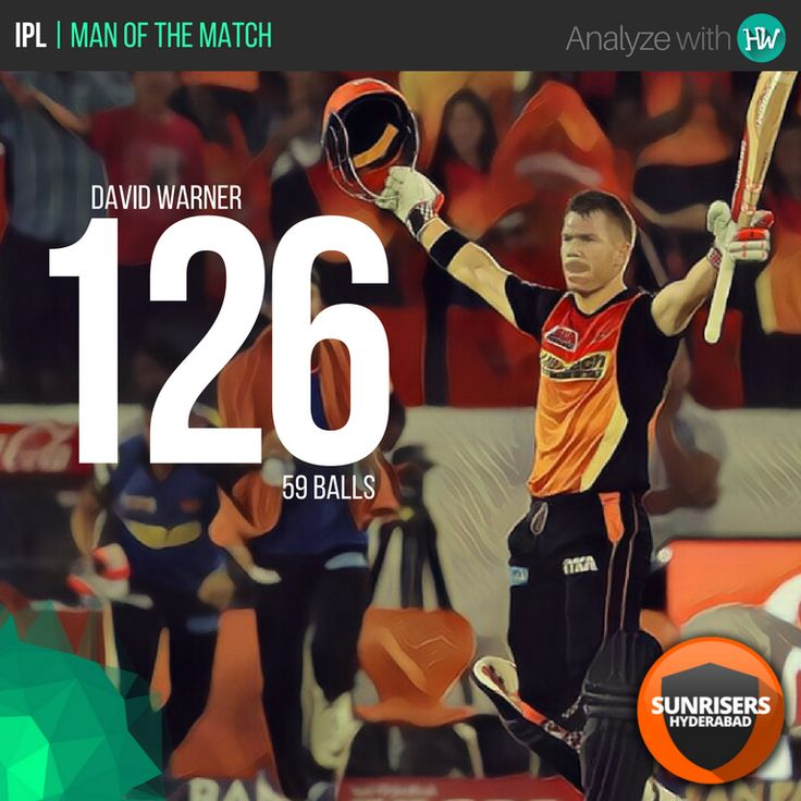 David Warner came, he saw and he conquered! What a brilliant knock by the SRH captain!  #IPL10 #IPL2017 #SRHvKKR #SRH #IPL #cricket