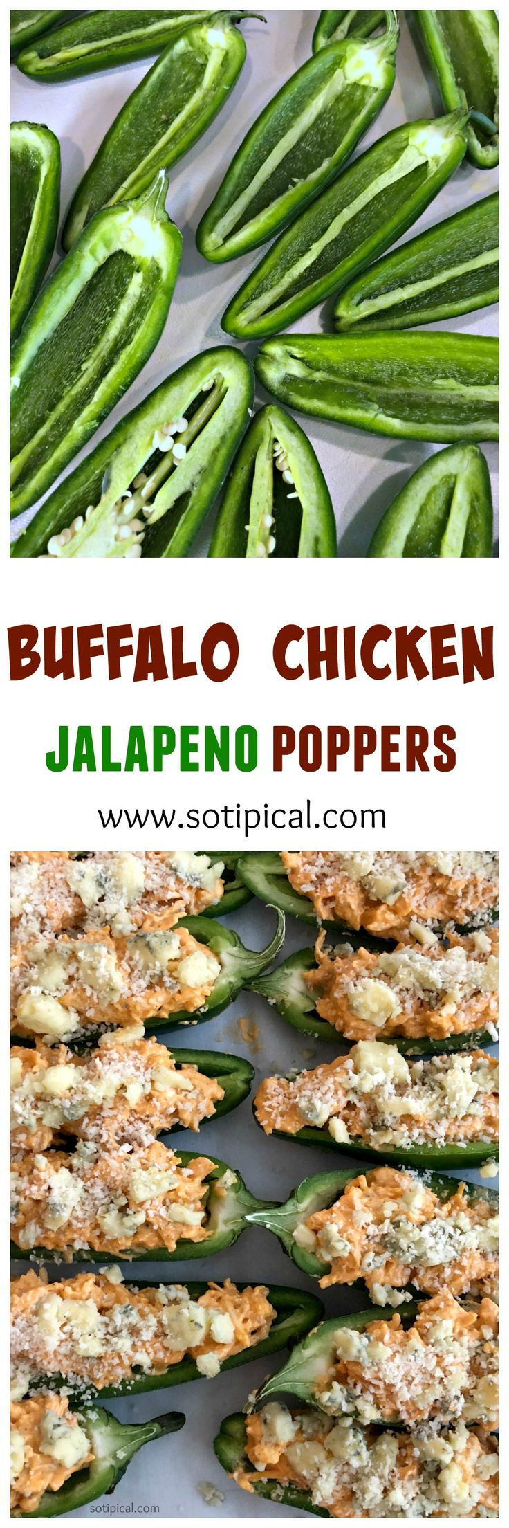 Buffalo Chicken Jalapeno Poppers - So TIPical Me #ad @salemvilleblue #salemville