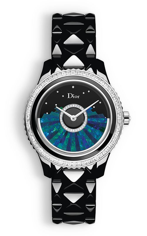 415457d171e6 Saks Fifth Avenue - Dior Dior VIII Grand Bal Diamond, Black  Mother-Of-Pearl, Black Ceramic   Stainless Steel Automatic Br
