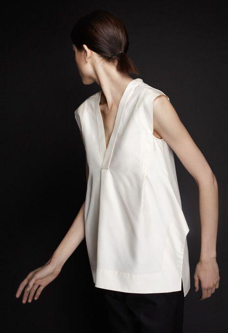 Marni - minimal white shirt