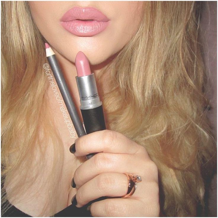 """MAC """"Soar"""" Lipliner & MAC """"Faux"""" Lipstick."""