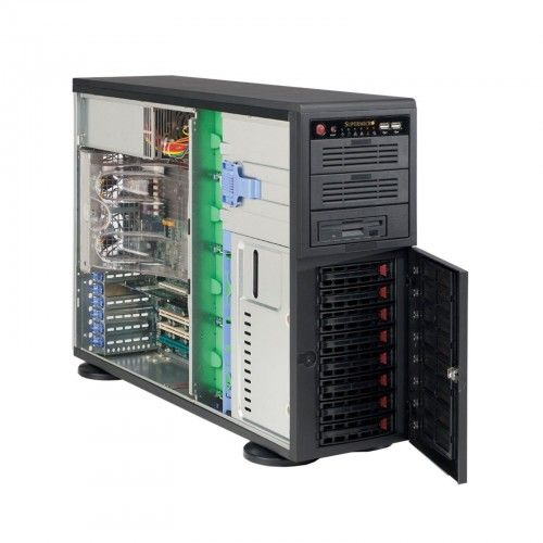 SM07-1/30-PED-E31270V3/32GB/HS/8BAY  • Pedestal Chassis 865W PSU • 8x 3.5″ SATA Hot-Swappable Drive Bays • Intel Xeon E3-1270V3 3.5GHz Quad-Core 8MB 1150 • 32GB DDR3-1600 UDIMM • 2x WD 1TB Enterprise Drives (RAID 1 for OS) • Assembly & Testing Included (48Hrs)