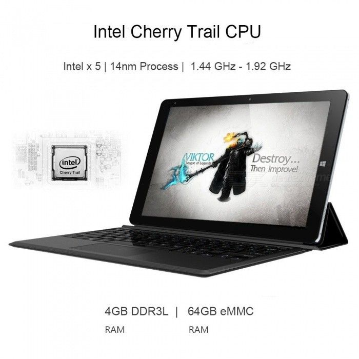 CHUWI Hi10 Plus Windows 10, Android 5.1 Dual Boot Tablet PC, US Plugs - Free Shipping - DealExtreme