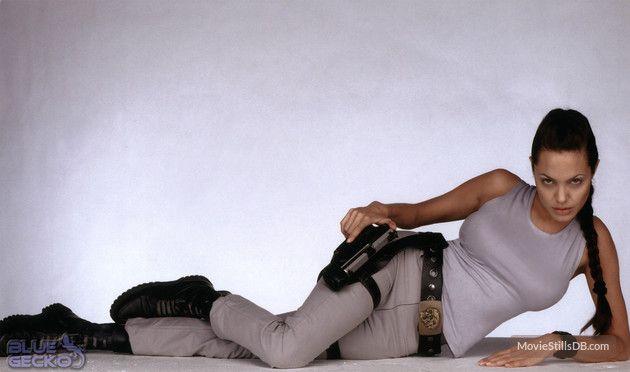 Lara Croft: Tomb Raider - Promo shot of Angelina Jolie
