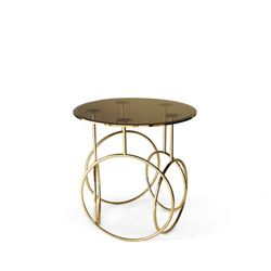 KIKI SIDE TABLE | #luxurybathroomfurniture #modernbathroomfurniture