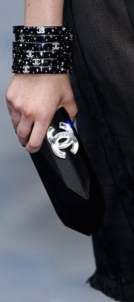 Chanel just one of those bracelets would make me a very happy girl