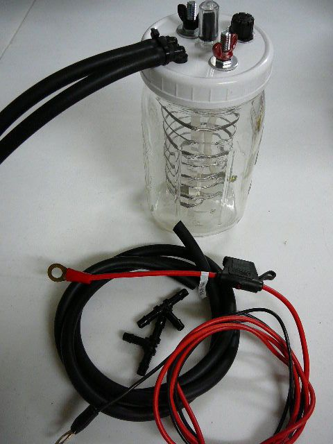 Electrolyzer Complete double outlet