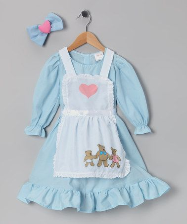 Take a look at this Blue Goldilocks Dress-Up Set - Toddler & Girls by Dress Up America on #zulily today!