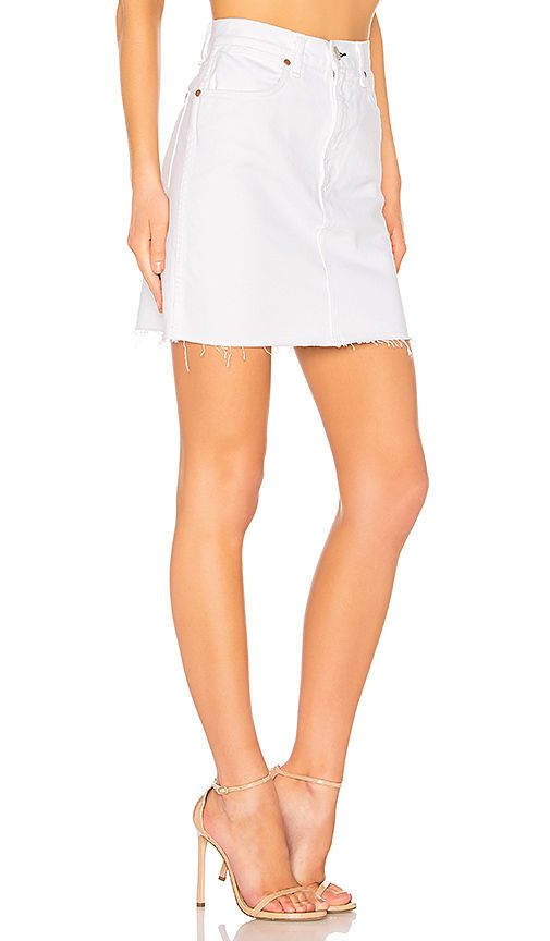 71eb53e463 rag & bone/JEAN Moss Skirt in White | REVOLVE | Elena's Contemporary ...