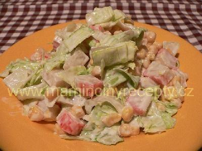 Křupavý salát surimi