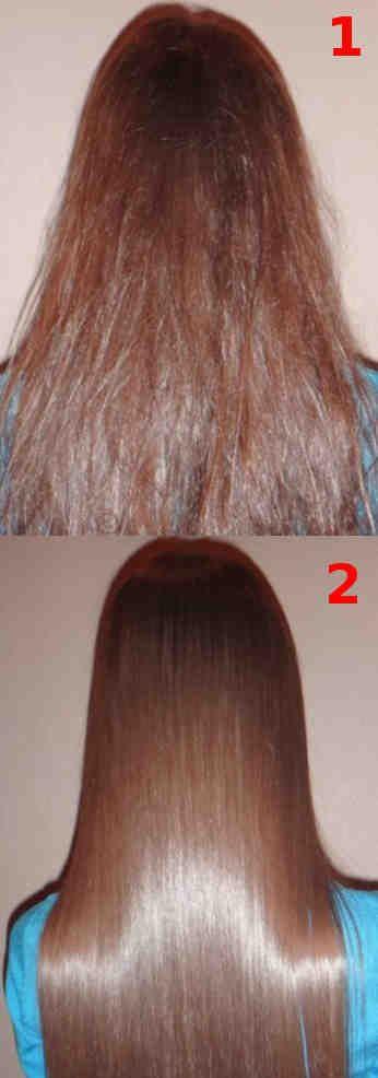 Milagrosa mascarilla para el cabello dañado  #cabello #pelo #mascarilla #brillo