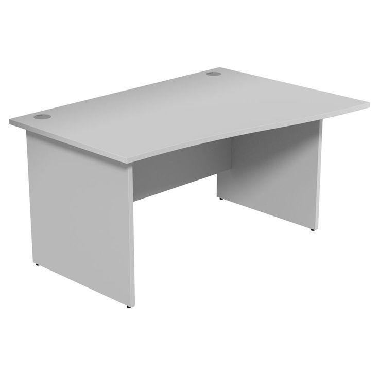 Dusk Wave Office Desk Panel Legs Grey X
