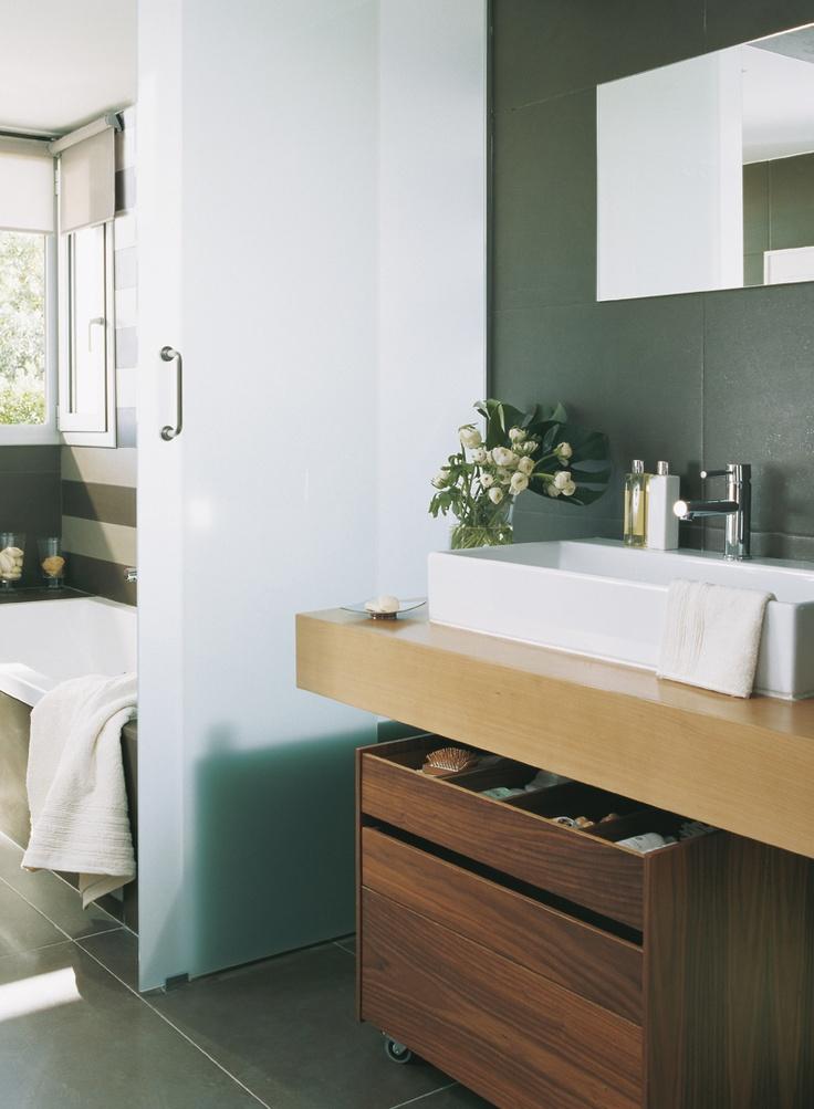 Best Bathroom Vanity Images On Pinterest Bathroom Ideas - Bathroom drawers on wheels for bathroom decor ideas