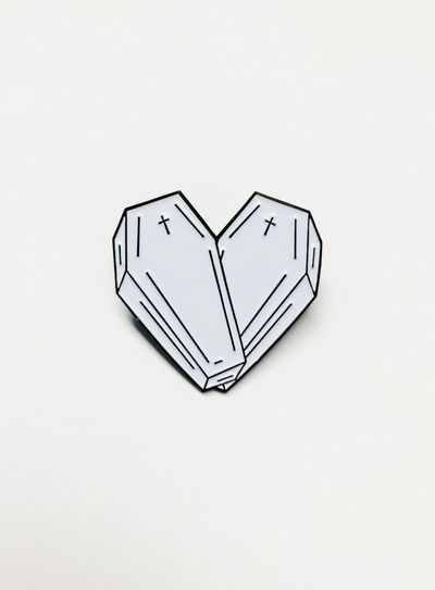 Love You to Death Lapel Pin