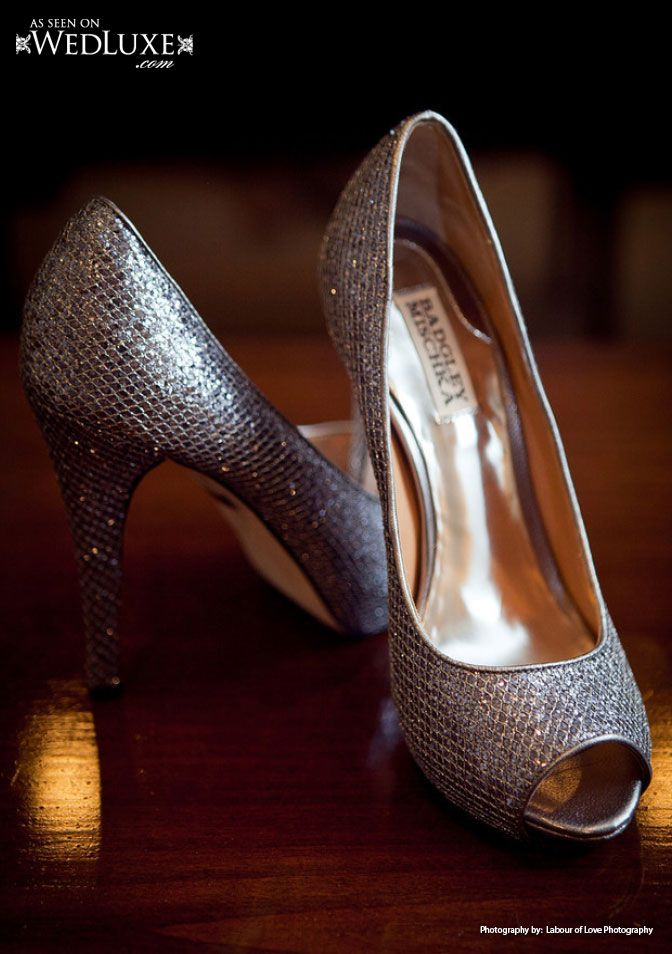 Badgley Mischka shoes | Labour of Love photography