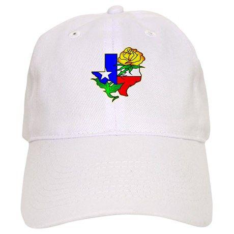 Yellow Rose Of Texas Baseball Cap on CafePress.com