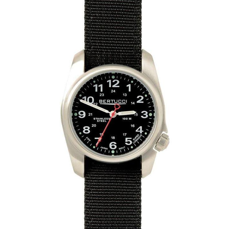 Bertucci A-1S Field Watch | Black/Black