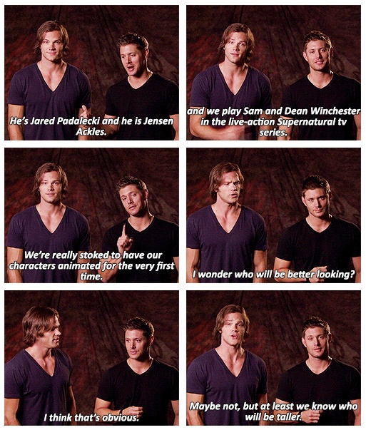 J2 - I just love these guys!