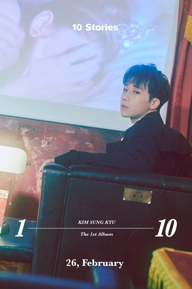 Infinite S Sunggyu Is Almost Ready To Tell You 10 Stories As He Drops A Teaser Image Kim Sung Kyu Infinite Told You So