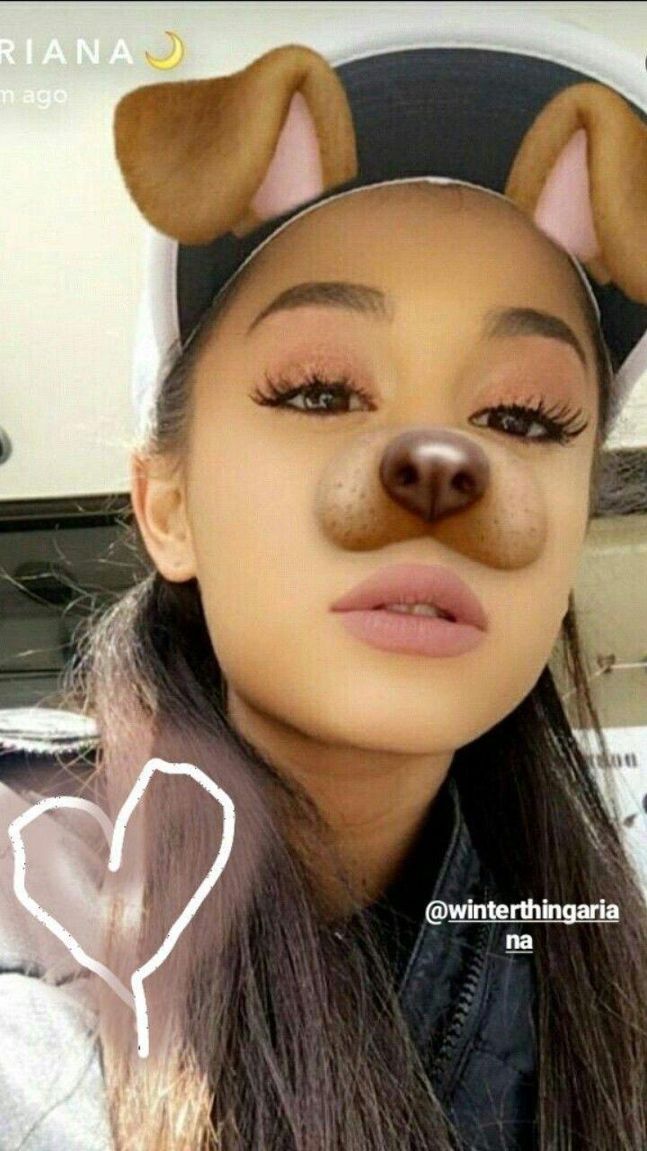 Snapchat Ariana Grande Snapchat