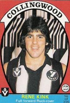 Rene Kink, Collingwood Footballer