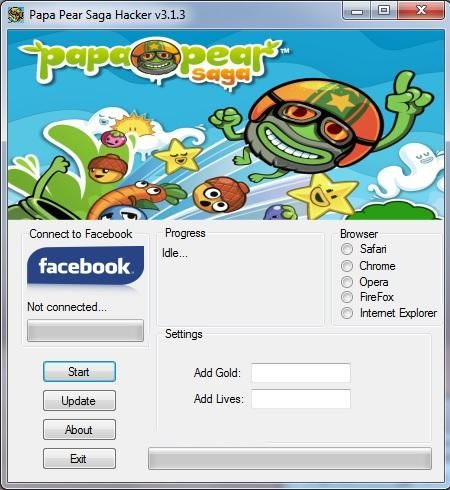 #freehacksgames #papapearsaga Papa Pear Saga Hack Tool Free Download The newer version of the Papa Pear Saga Cheats Tool has been made. With such fresh release we solved completely the errors that were found involved in the outdated version, as usual everyone should be able to download our Papa Pear Hack