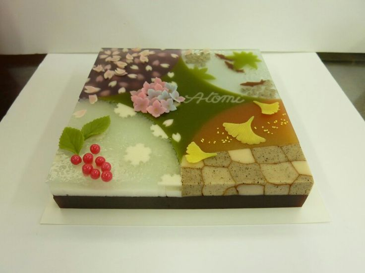 Japanese Sweets, 虎屋 和菓子オートクチュール: 四季の菓子