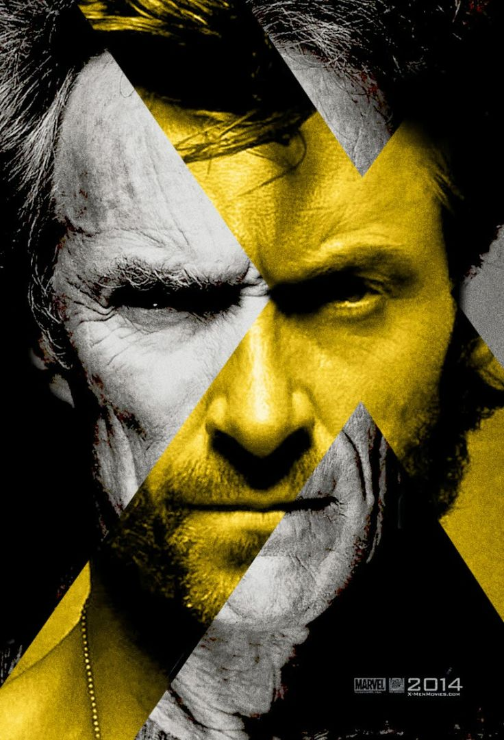 X-Men days of future past / Alternate poster feat. Clint Eastwood x Hugh Jackman