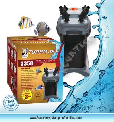 ** ENVIO GRATIS! 75€ ** FILTRO EXTERNO TURBOJET 3358 PARA ACUARIOS http://acuariosyestanquesacuatica.com/equipamiento-acuario-dulce/204-filtro-externo-turbo-jet-para-acuarios-de-agua-dulce-y-salada.html