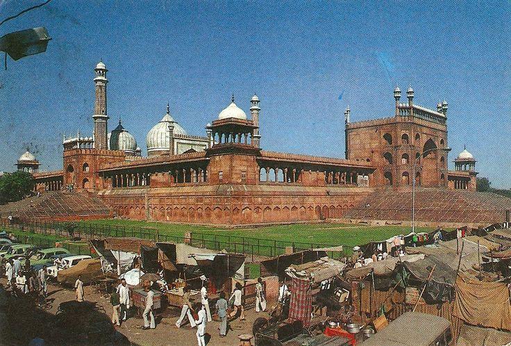 India - Jama Masjid-Delhi