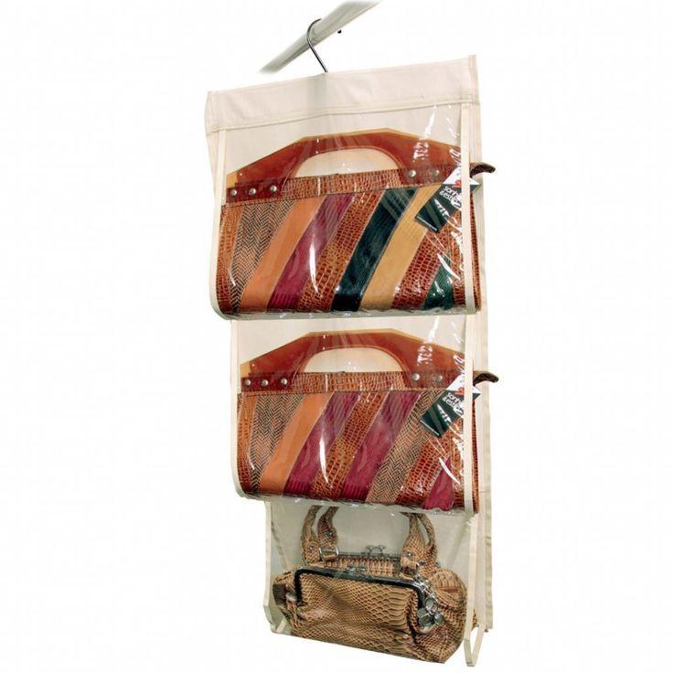 Cabide organizador de Bolsas - Organize suas bolsas e ganhe mais tempo na hora de usar! - Armários e Closets / Organizadores de Armários
