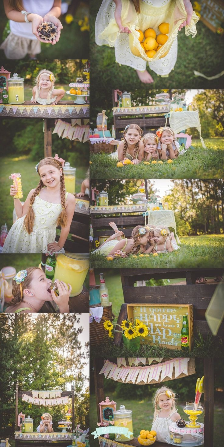 Lemonade Stand Mini Session by Tara Merkler Photography in Central Florida
