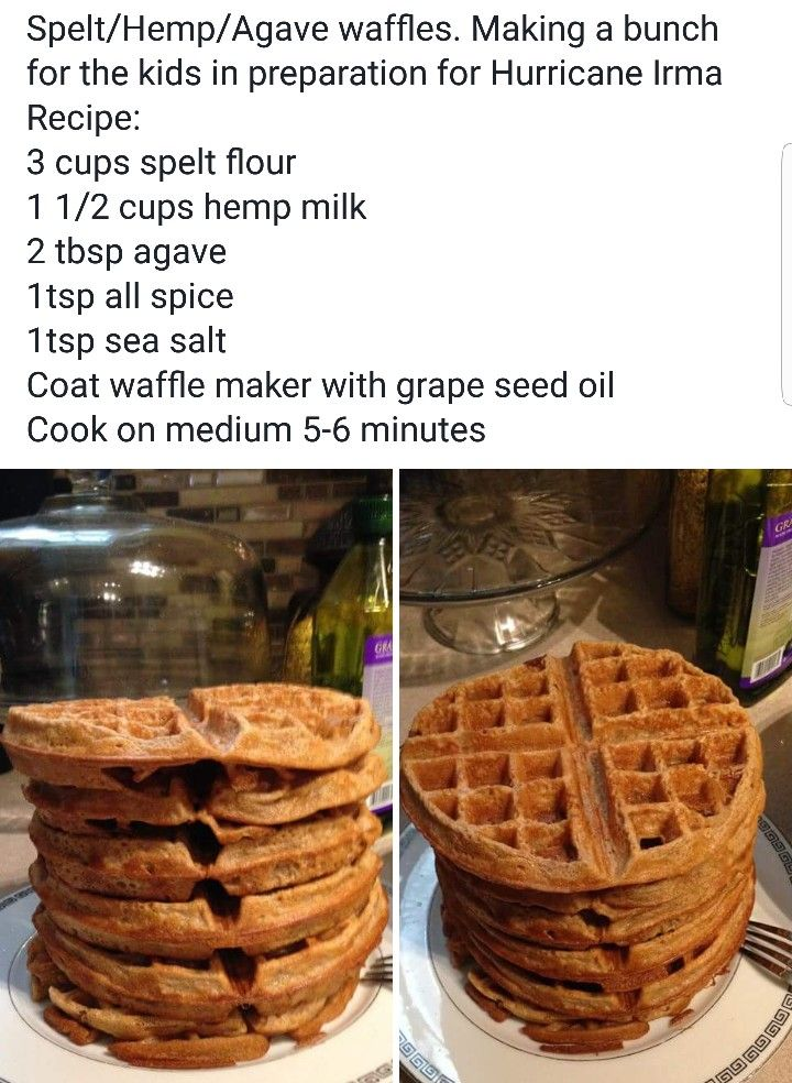 Alkaline Vegan waffles with Dr Sebi approved ingredients