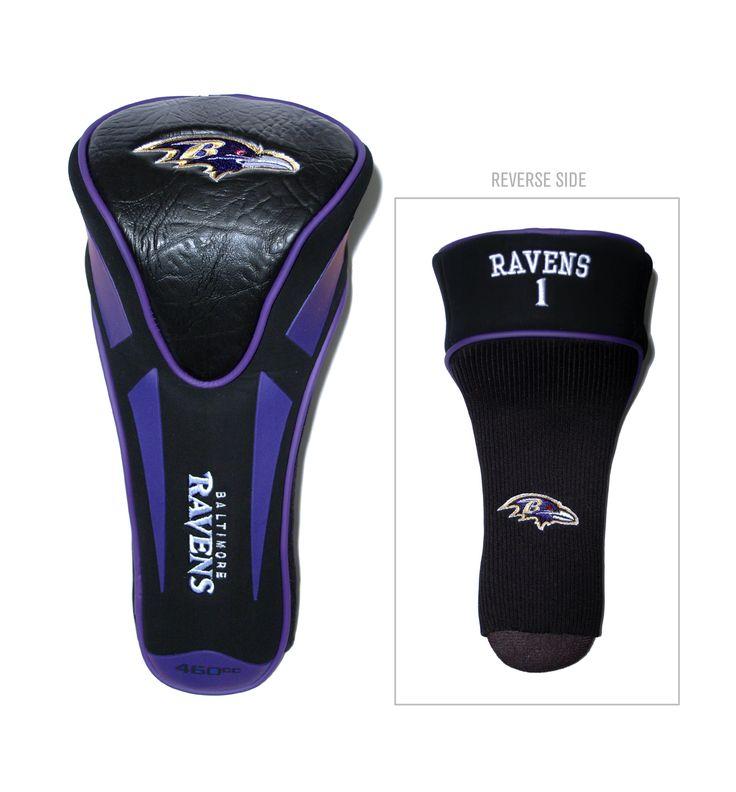 Baltimore Ravens Single Apex Jumbo Golf Headcover – ResellerHub.store