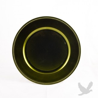 Olive Green Charger Plates Bulk 24 Plates 1 99 Plate