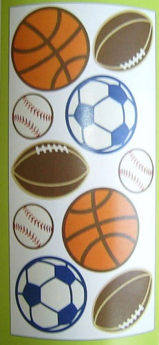 brand new circo boys all star sports wall decals stickers toddler bed set