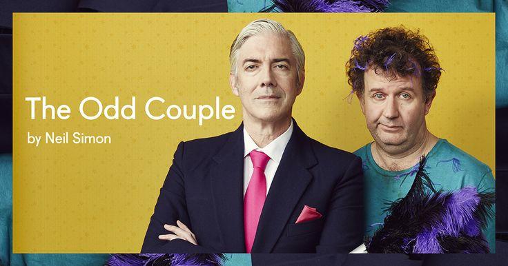 The Odd Couple by Neil Simon http://bit.ly/1hOJyPL
