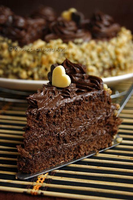 673. Шоколадный торт по ГОСТу