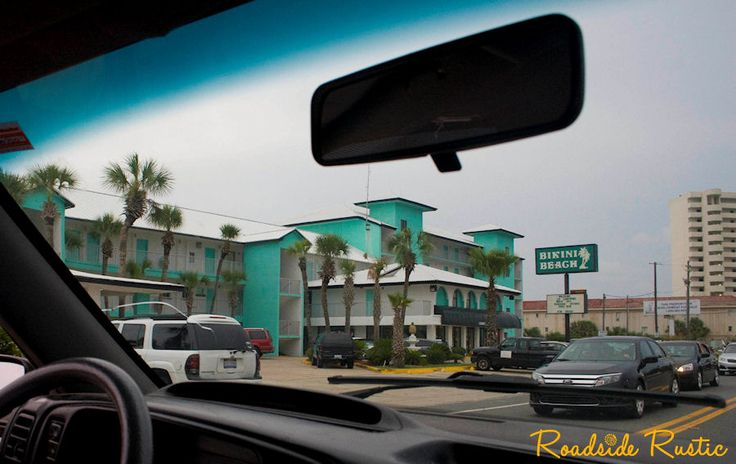 Panama City Beach: The Old Motels. How many people ever stayed here? And where are you from?
