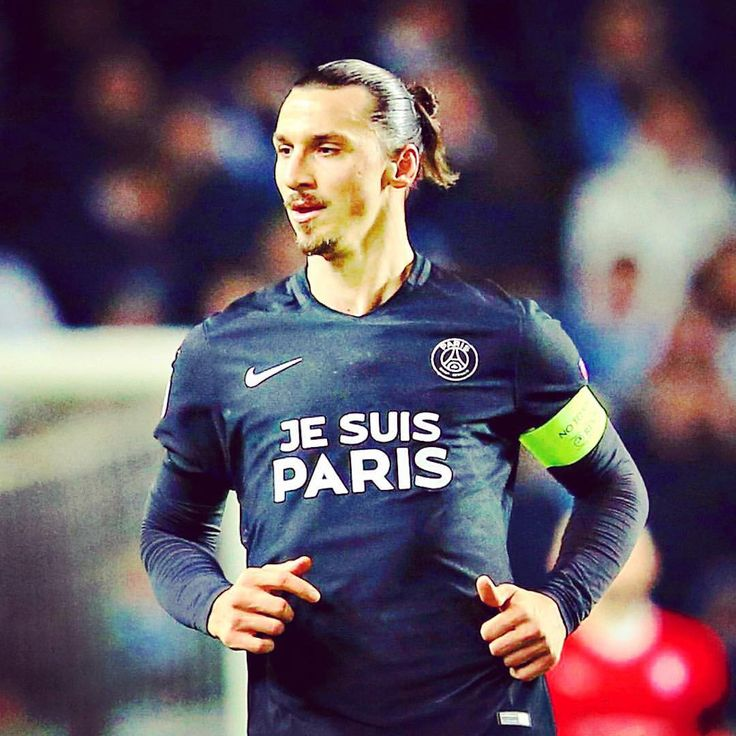 "espn on Instagram: ""Zlatan Ibrahimovic and Paris Saint-Germain donned these custom Je Suis Paris (I am Paris) uniforms to honor the victims of the Paris attacks when they faced Swedish club Malmö today. PSG won 5-0. [Credit: Andreas Hillergren/AP Photo]"""