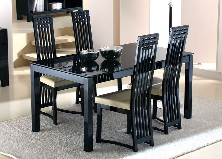 cool Lucido glass dining table in Extending and Large Designs - Stylendesigns.com!