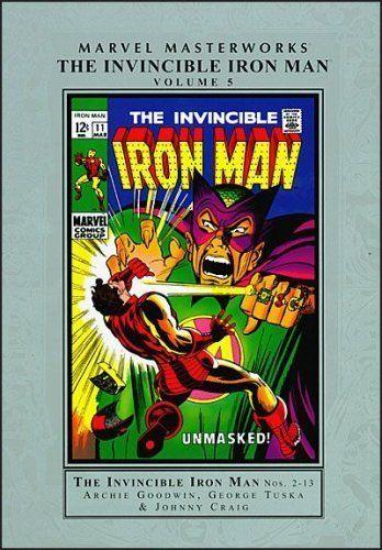 Marvel Masterworks: Invincible Iron Man - Volume 5 @ niftywarehouse.com #NiftyWarehouse #IronMan #Iron-man #Marvel #Avengers #TheAvengers #ComicBooks #Movies