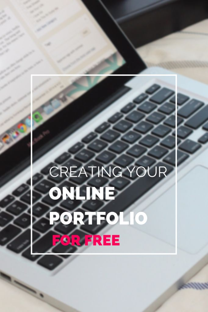 Creating an online portfolio doesn't have to cost a lot, or anything for that matter! Here are a few free ways to create your online portfolio