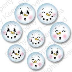 Snowman faces... templates