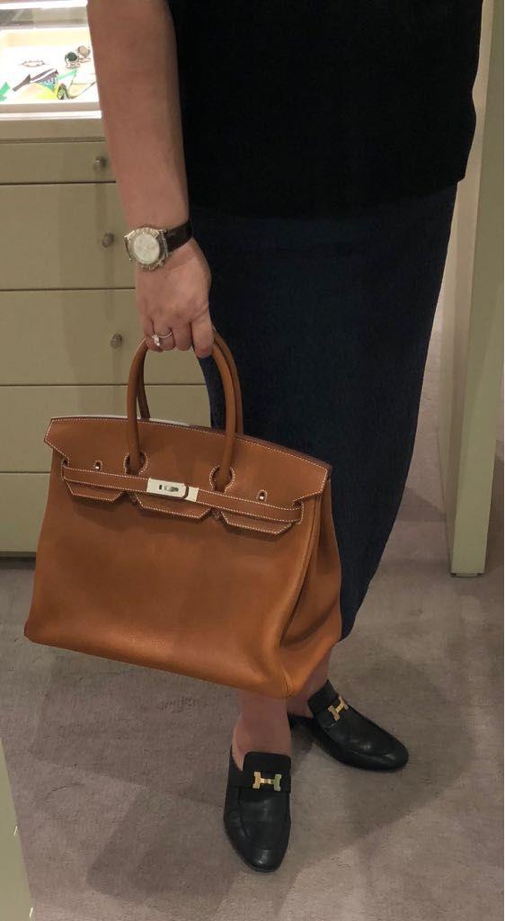 74fb103b6b04 My new Birkin 35 Veau Barenia Faubourg Fauve Hermes Bags