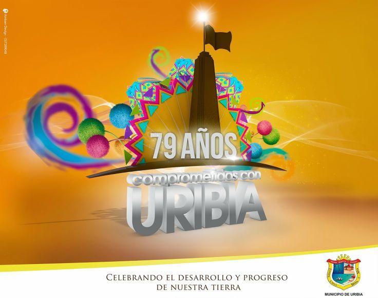 La noche del arco iris: Conmemoración de los 79 años de Uribia en imagenes...