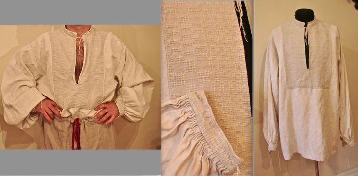 Сорочка пошита вручну з домотканого полотна. Моя приватна власність